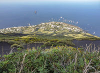 high angle view at Stromboli