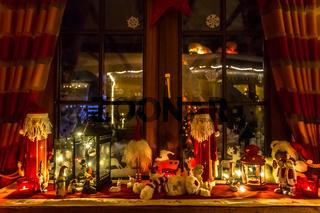 stimmungsvolle weihnachtsdekoration