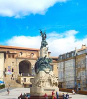 Virgen Blanca square, Vitoria-Gasteiz