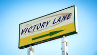 Street Sign to Victory Lane