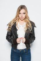 Portrait of stylish young lady