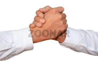 Gestenserie Begrüssung, handschlag