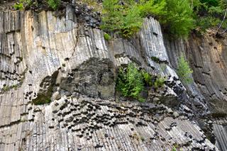 Basalt Felsen