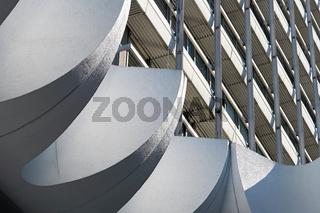Bürogebäude in der Innenstadt von Berlin