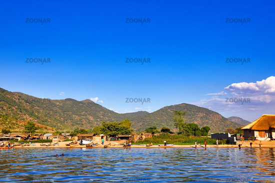 Leben am Malawisee, Cape Mc Clear, Malawi | Life at Lake Malawi, Cape Mc Clear, Malawi