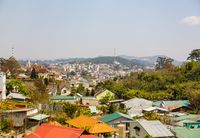 View of the city of Dalat from a height
