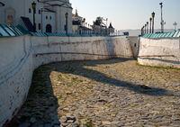 Sofiiskii or Pryamskoy vzvoz in Tobolsk Kremlin. Tobolsk. Russia