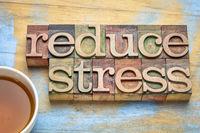 reduce stress reminder in wood type