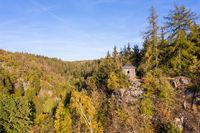 herbstliche Impressionen aus dem Selketal im Herbst