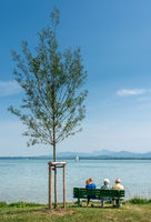 Entspannung am Chiemsee