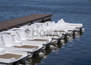 Pedal Boat.