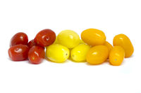 Mixed grape tomatoes