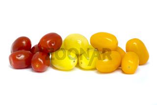 Mixed grape tomatoes
