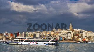Karakoy skyline
