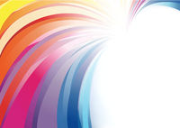 Colorful Abstract Background in Bright Colors