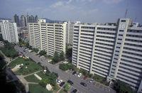 SOUTHKOREA SEOUL CITY APARTMENT HOUSE