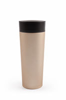 stainless steel thermos cup isolated