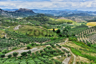 Landscape view of Calabria