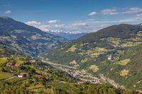 The Eisack Valley near Klausen