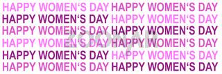 Illustration card International Women's Day