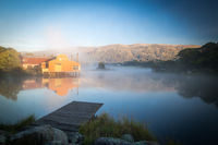 Morning at Lake Crackenback