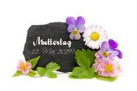 Blumengruß zum Muttertag 2019