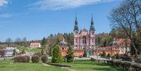 Wallfahrtskirche Swieta Lipka (Heiligelinde) in Ermland-Masuren,Polen