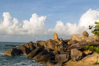 The Grandfather Rock, a penis shaped pillar Koh Samui, Thailand