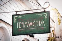 Street Sign to Teamwork