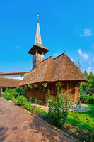 Wooden Church in Saint George Monastery