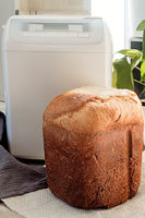 Electric oven for baking bread at home