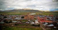 Exterior view to Iglesia de Santa Isabel de Pucara, Puno, Peru