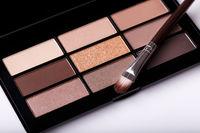 Eye shadow brown palete
