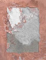 Wall frame, frame torn