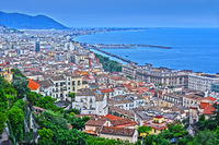 Panoramic view of Salerno