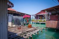 George Town Chew jetty, Penang, Malaysia