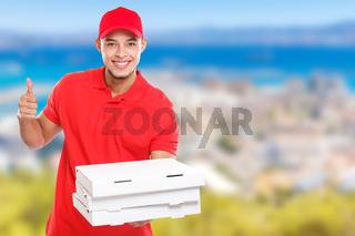 Pizza delivery latin man order delivering job success successful smiling deliver copyspace copy space
