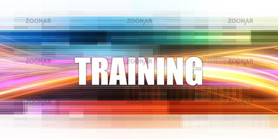 Training Corporate Concept