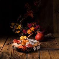 a delicious autumnal creamy hokkaido pumpkin puree