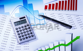 Finanzmarkt Konzept