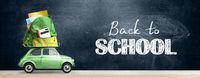 Back to school car.