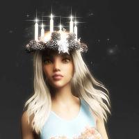 Digital 3D Illustration of a Fantasy Woman