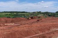 Giant excavator machinery industry