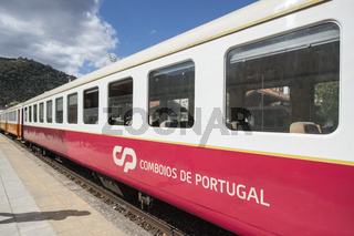 EUROPE PORTUGAL DOURO PINHAO RAILWAY STATION