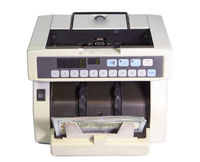 electronic money counter machine with American dollars