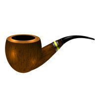 Retro Wooden Smoking Pipe