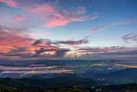 Phu Thap Berk Viewpoint at the sunrise