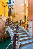 Ponte Torto bridge  in Venice