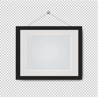 Picture Frame Isolated Transparent Background