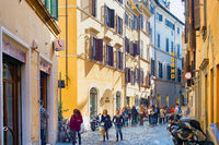 People Old Town street Rome